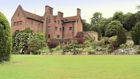 Churchill's Secret -- Filming at Chartwell