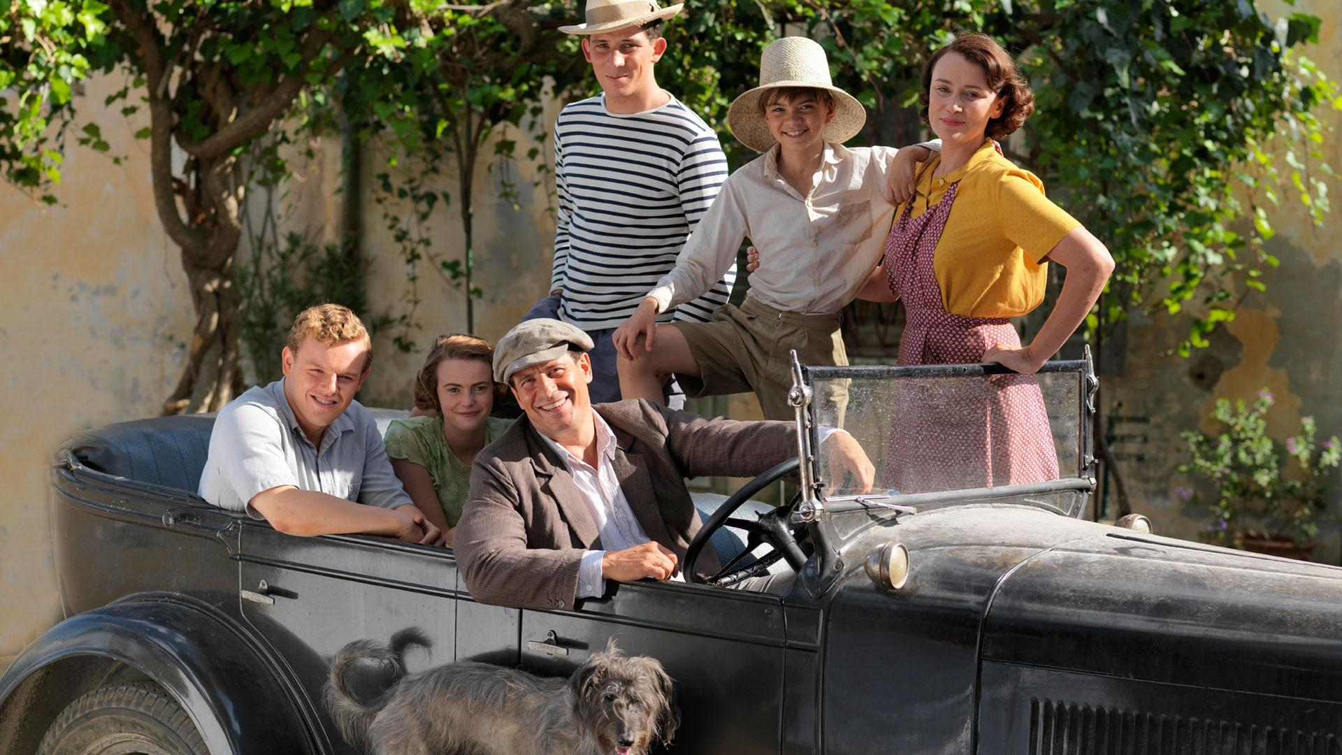 Meet the Durrells