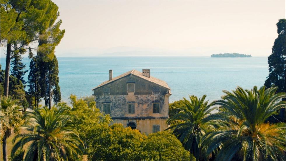Filming in Corfu image