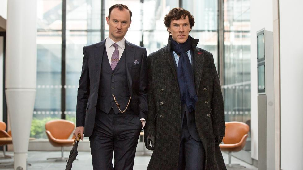 Mycroft and Sherlock's Relationship image