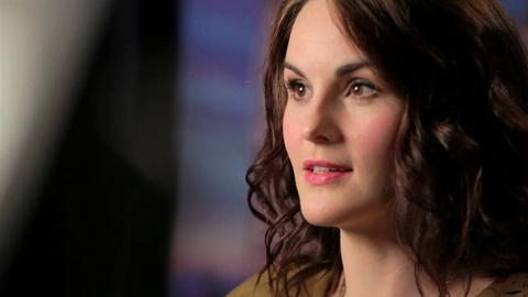 Downton Abbey - Masterpiece -- Michelle Dockery on Aristocratic Attractions