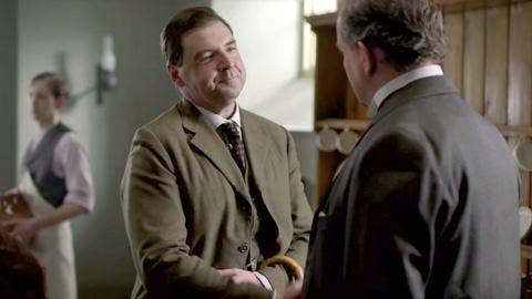 Downton Abbey - Masterpiece -- S3: Robert & Bates -- Isn't it Bromantic?