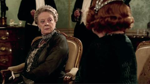 Downton Abbey - Masterpiece -- S3: Maggie Smith, Queen of the Double Take