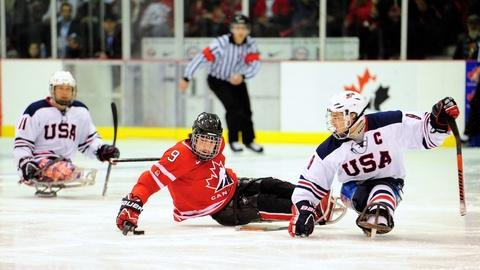 Ice Warriors: USA Sled Hockey - Short Preview