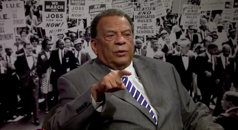 Memories of the March: A Conversation with Ambassador Andrew Young