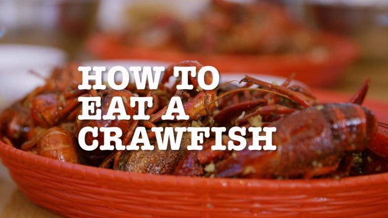 Off the Menu: Houston: How to Eat Crawfish