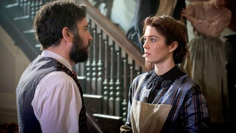 Mercy Street -- Meet Nurse Mary Phinney and Dr. Jedediah Foster