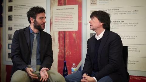 Mercy Street -- S1: Josh Radnor and Ken Burns Discuss Civil War Hospitals