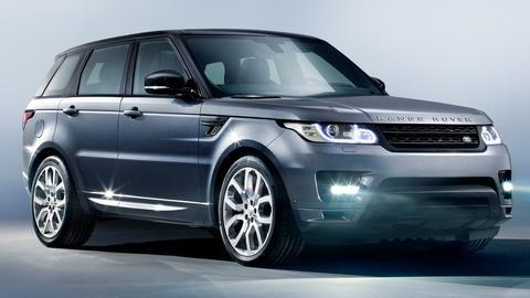 2014 Land Rover Range Rover Sport & 2014 Cadillac CTS