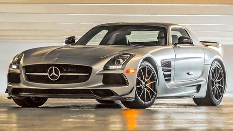 2014 Mercedes-Benz SLS AMG Black Series & 2013 Smart Electri