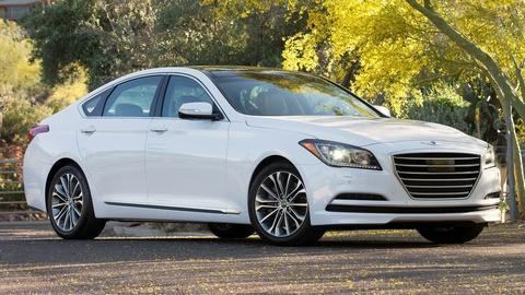 2015 Hyundai Genesis & 2015 GM Full-Size SUVs