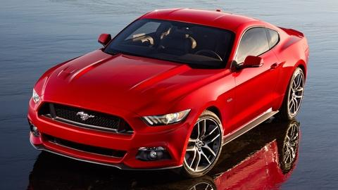 2015 Ford Mustang & 2015 Lexus RC Sport Coupe