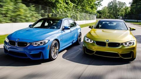 MotorWeek -- 2015 BMW M3/M4 & 2015 Mitsubishi Mirage