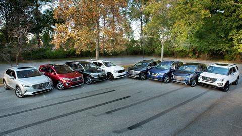 S36 E15: Cars.com 3-Row SUV Challenge & 2017 Fiat 124 Spider