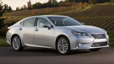 2013 Lexus ES & 2013 Infiniti JX