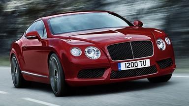 2013 Bentley Continental GT V8 & 2012 Hyundai Azera