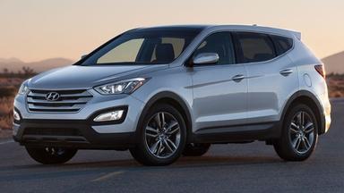 2013 Hyundai Santa Fe & 2013 Cadillac ATS