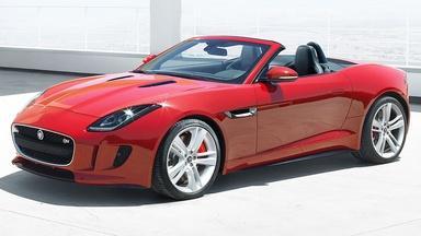 2014 Jaguar F-Type & 2013 Ford Taurus