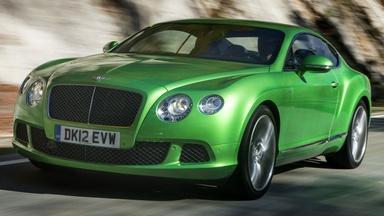2013 Bentley Continental GT Speed & 2013 Toyota Avalon Hybri