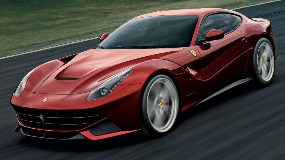 Motorweek 2013 Ferrari F12 Berlinetta Full Size Sedan Challenge