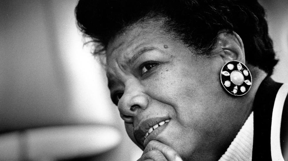 Facing Evil with Maya Angelou image