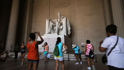 The National Mall – America's Front Yard -- The Lincoln Memorial