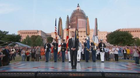 National Memorial Day Concert -- The National Anthem at the U.S. Capitol