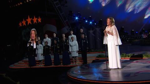 "National Memorial Day Concert -- Renée Fleming Performs ""How Can I Keep From Singing"""