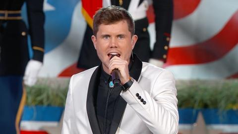 National Memorial Day Concert -- Trent Harmon Performs the National Anthem