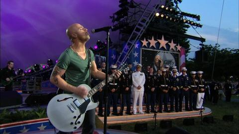 National Memorial Day Concert -- Returning Troops Receive Tribute