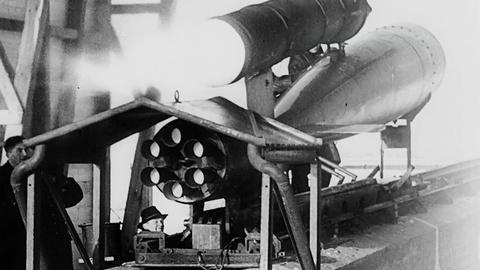 S2 E1: Scenes from V1: Hitler's Vengeance Missile