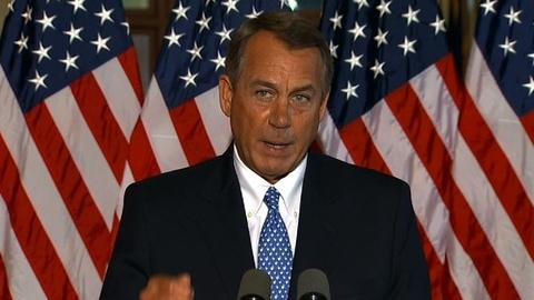 PBS NewsHour -- Obama rejects House GOP call for special committee