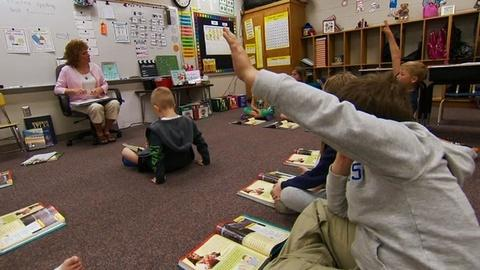 PBS NewsHour -- Model school trains teachers in ABCs of reading instruction