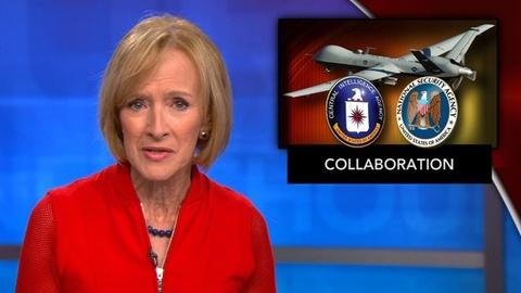 PBS NewsHour -- News Wrap: CIA uses NSA data to carry out drone strikes