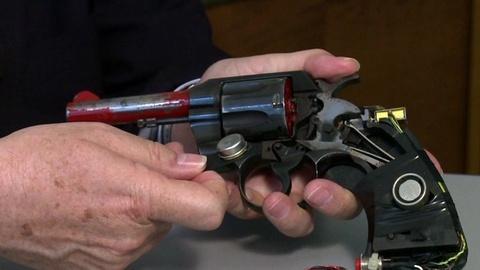 PBS NewsHour -- Gun safety advocates support 'smart' firearms