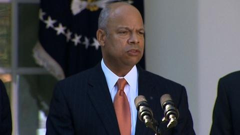PBS NewsHour -- Jeh Johnson tapped for Homeland Security