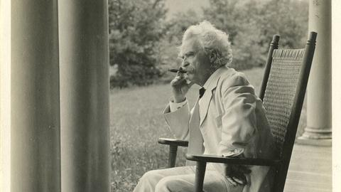 PBS NewsHour -- Mark Twain is back! Volume II of his autobiography just out