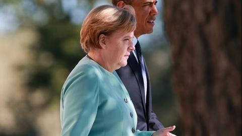 PBS NewsHour -- Merkel: U.S. spying on friends is 'not acceptable'