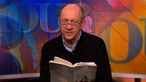 """PBS NewsHour -- Billy Collins reads """"A Dog on His Master"""""""