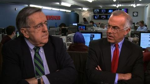 PBS NewsHour -- Shields, Brooks on Acela eavesdropping and the World Series