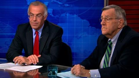 PBS NewsHour -- Shields, Brooks on glitchy website, spying on friends