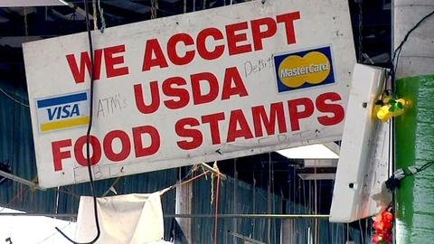 PBS NewsHour -- Food stamp cuts force families to get by with less