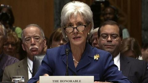PBS NewsHour -- Kathleen Sebelius: Delay of health care law 'not an option'