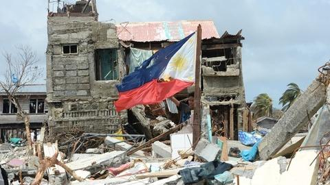 PBS NewsHour -- Philippines relief has faced 'one blow after another'