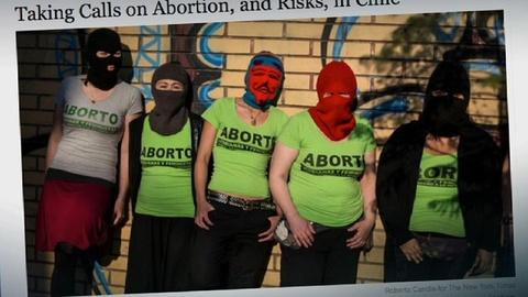 PBS NewsHour -- Controversial case opens up discussion of abortion in Chile
