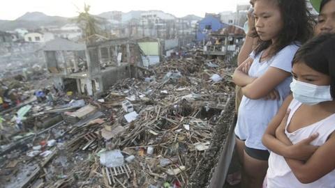 PBS NewsHour -- Update from Barnaby Lo, Cebu City, Philippines