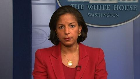 PBS NewsHour -- Susan Rice: 'Now is not the time for new sanctions' on Iran
