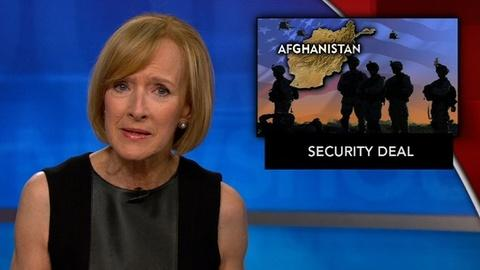 PBS NewsHour -- News Wrap: U.S. steps up pressure for Afghan security deal