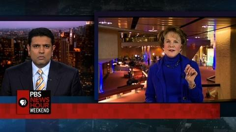 PBS NewsHour -- Margaret Warner reports from Geneva
