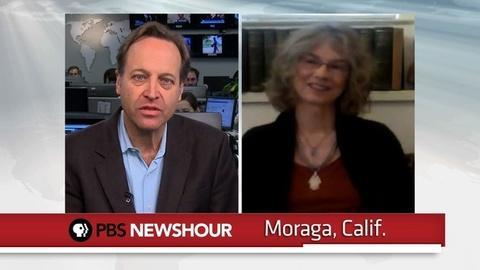 PBS NewsHour -- Brenda Hillman on 'Seasonal Works with Letters on Fire'